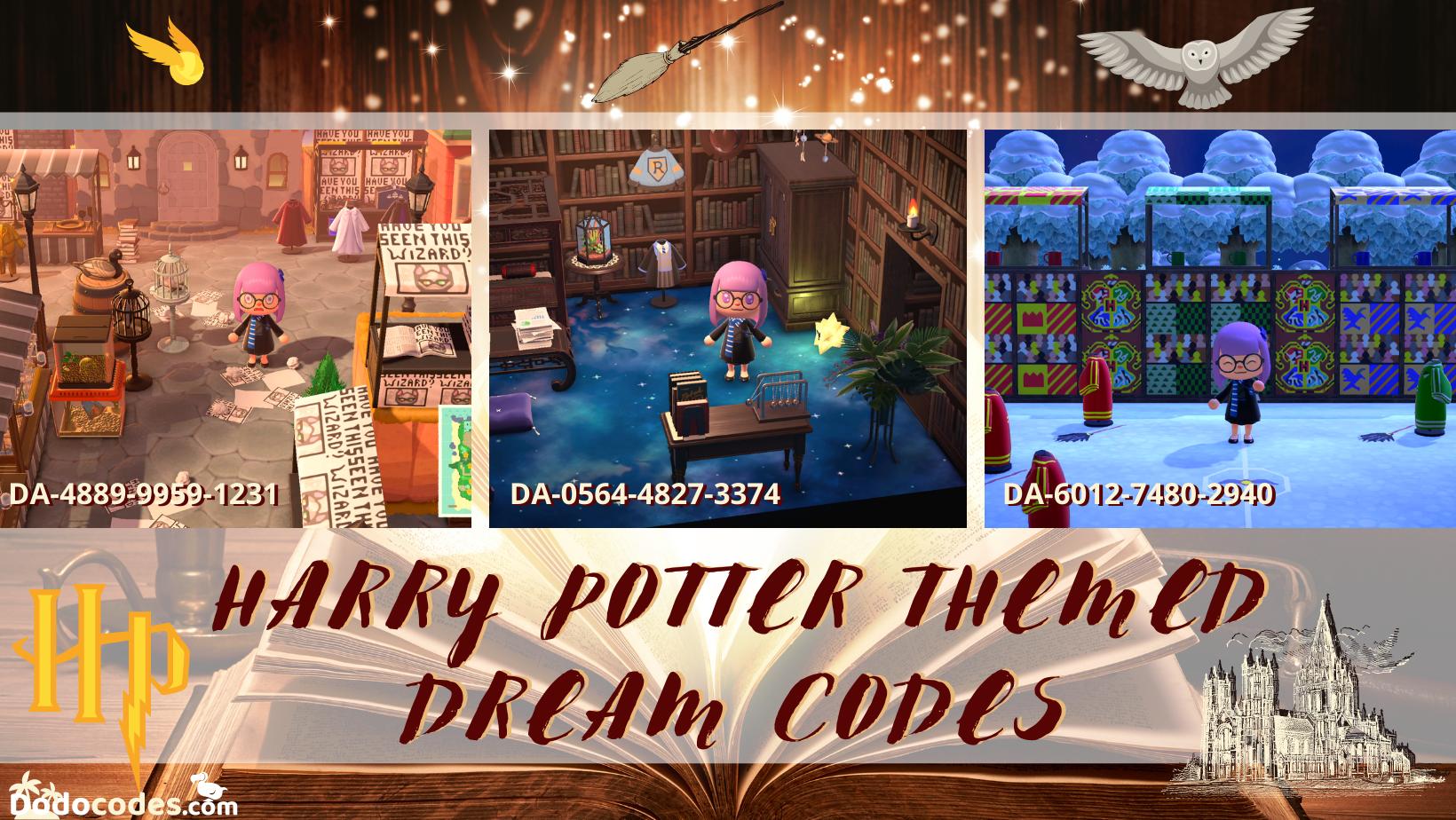Dodocodes Com Blog Harry Potter Themed Dream Codes